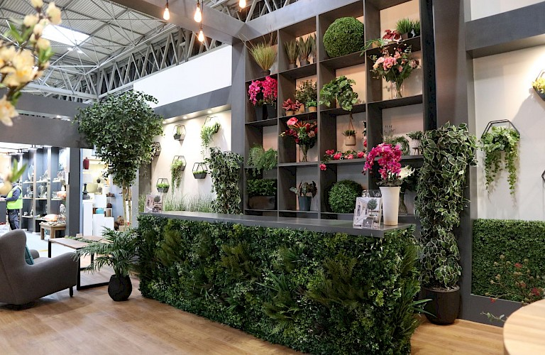 Artificial Greenery Specialists - Ascott at The January Furniture Show 2020